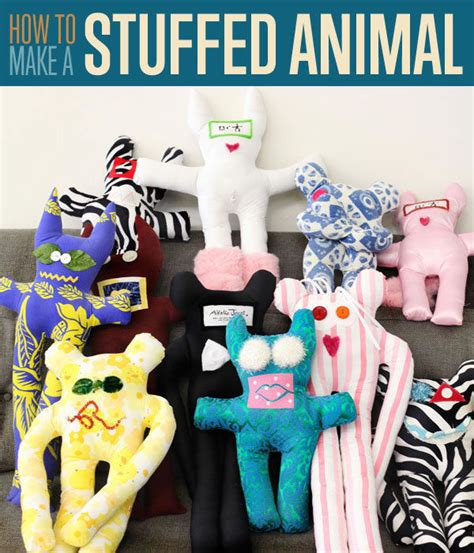 Diy Stuffed Animals Pinterest