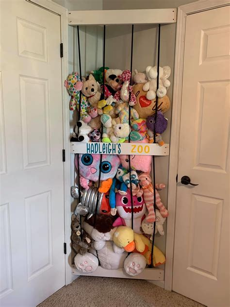 Diy Stuffed Toys Organizer