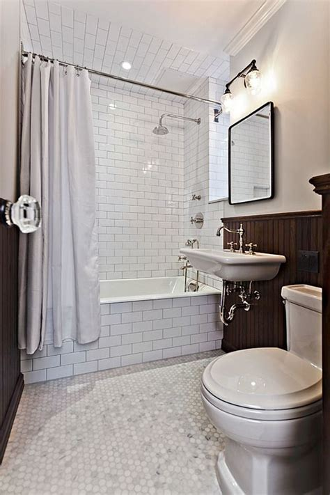 Diy Subway Tile Small Bathroom