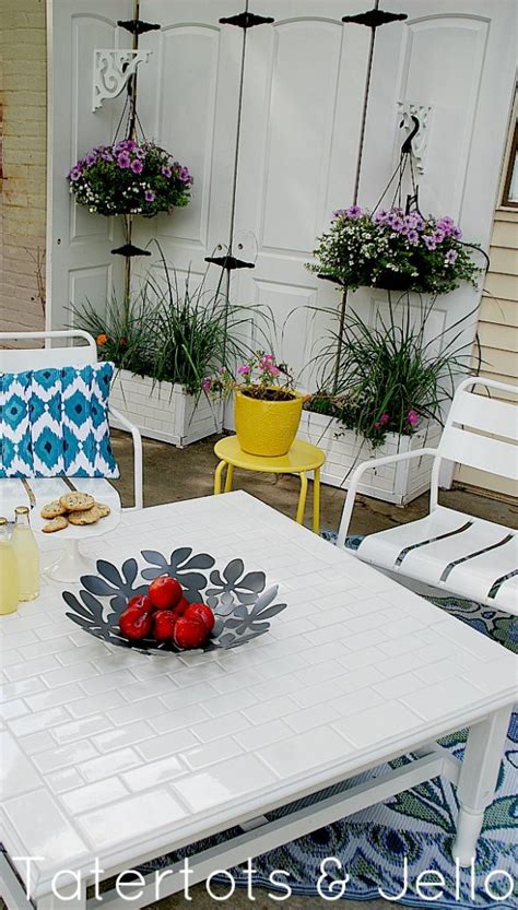 Diy Subway Tile Table