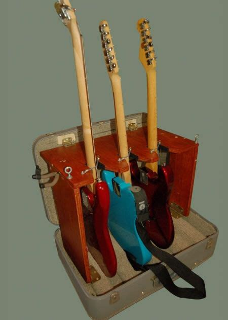 Diy Suitcase Guitar Stand