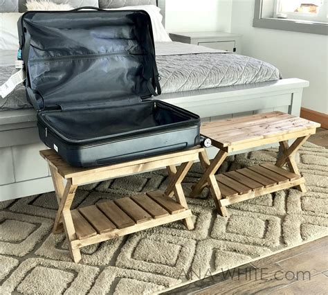 Diy Suitcase Stand