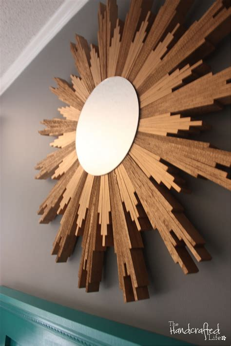 Diy Sunburst Mirror Wood Shims For Floors