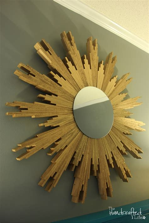 Diy Sunburst Mirror Wood Shims Thickness