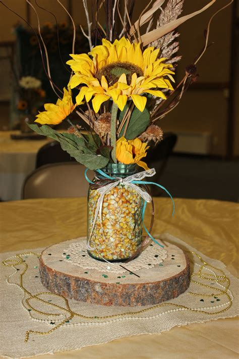 Diy Sunflower Table Centerpieces