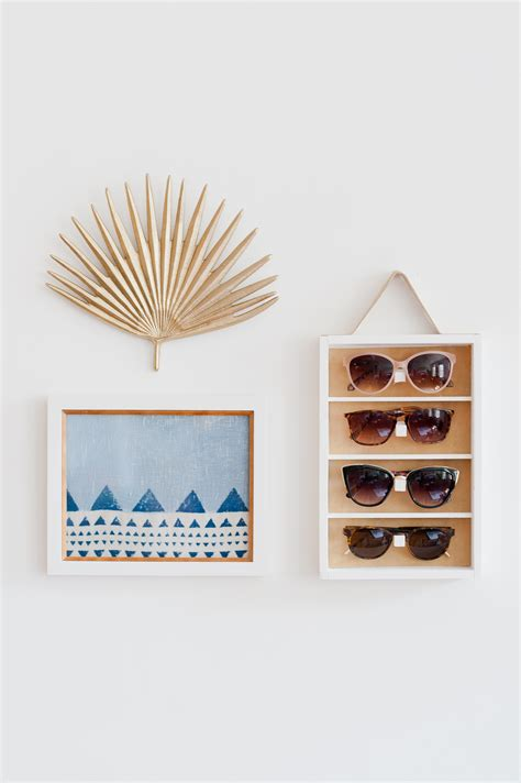 Diy Sunglass Storage