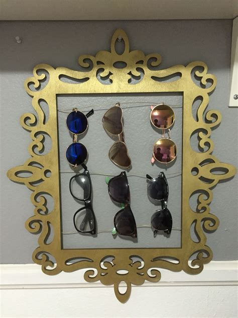 Diy Sunglasses Vanity Display Rack
