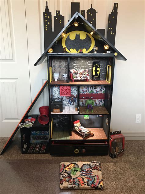 Diy Superhero Doll House