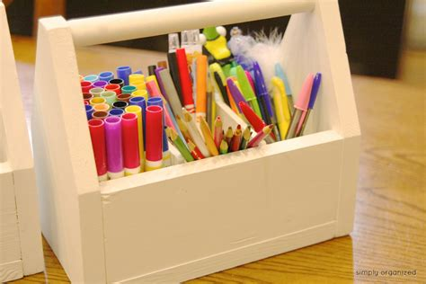 Diy Supply Caddy Wood