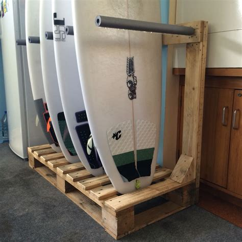 Diy Surfboard Rack With Pallets