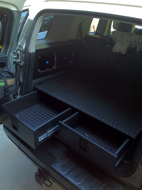Diy Suv Storage Box Drawer