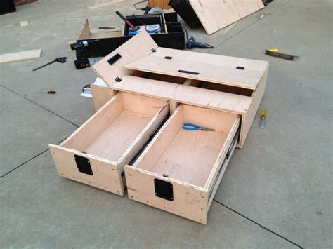 Diy Suv Storage Drawer Plans Plywood