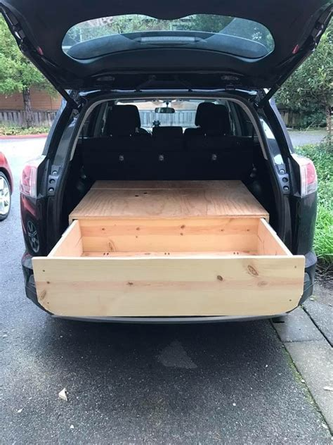 Diy Suv Storage Drawers