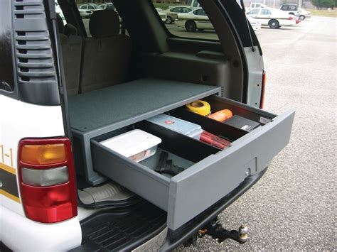 Diy Suv Trunk Storage
