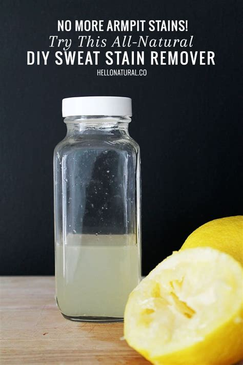 Diy Sweat Stain Remover