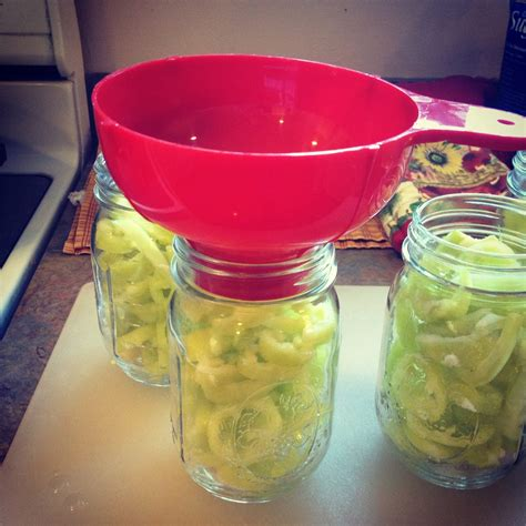 Diy Sweet Banana Pepper Rings