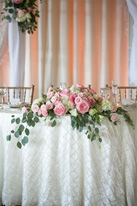 Diy Sweetheart Table Florals