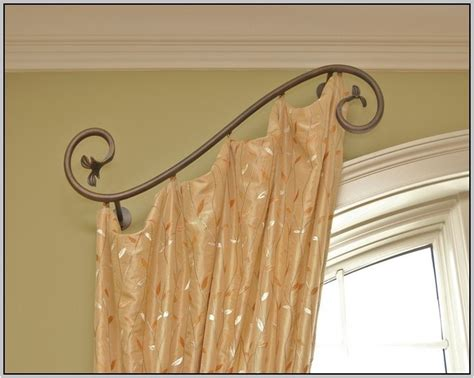 Diy Swing Arm Curtain Rod