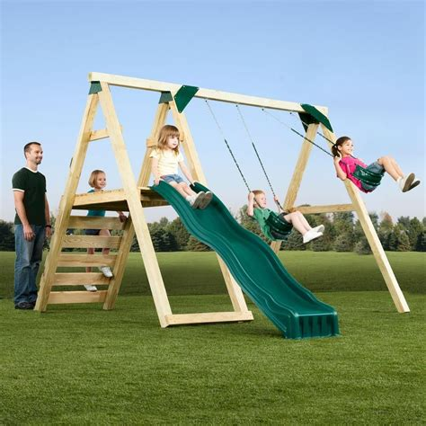 Diy Swing Set Home Depot