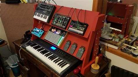 Diy Synth Stand