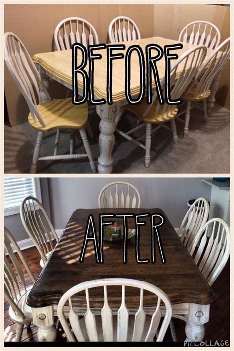 Diy Table And Chairs Makeover