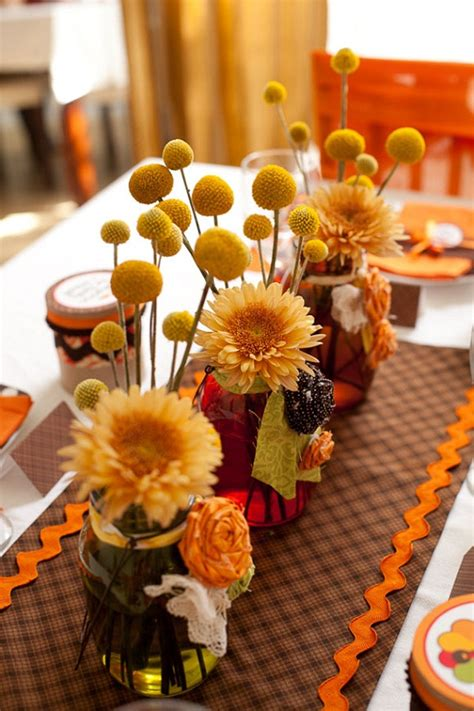 Diy Table Cinter Pice For Thanksgiving