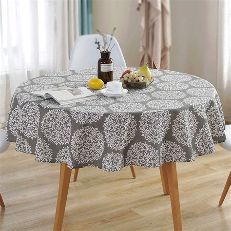 Diy Table Cloth For 60 Inch Round Table