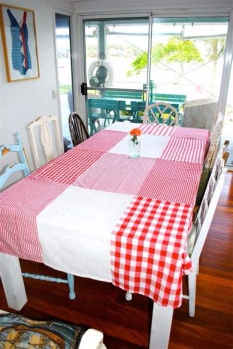 Diy Table Cloth With Net