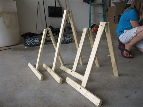 Diy Table Easel For Art Party