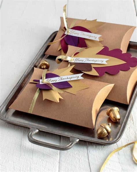 Diy Table Favors For Thanksgiving