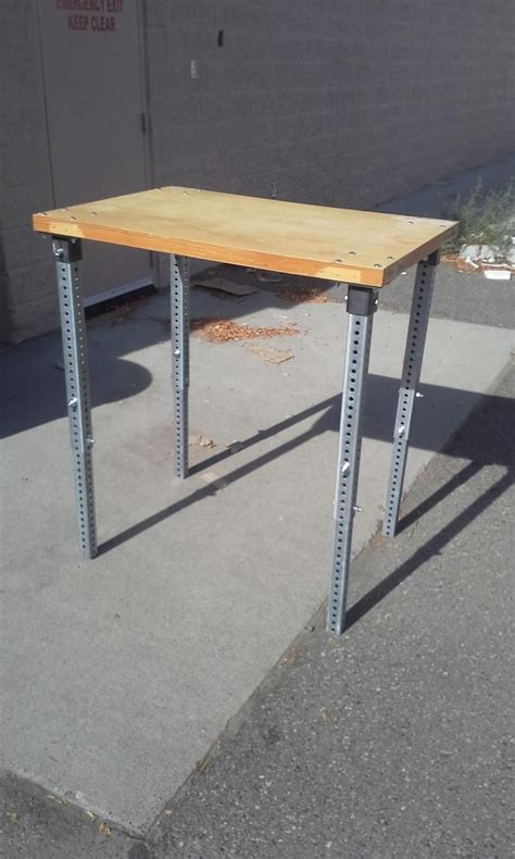 Diy Table Legs Adjustable Height
