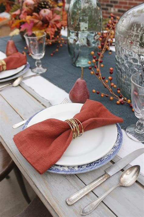Diy Table Napkin Rings