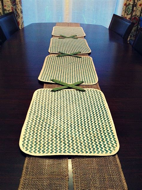 Diy Table Runner And Placemats