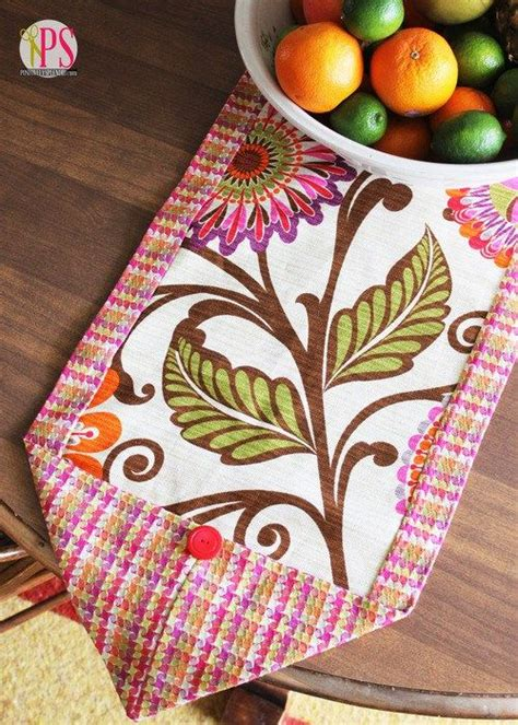 Diy Table Runner Tutorial Pattern
