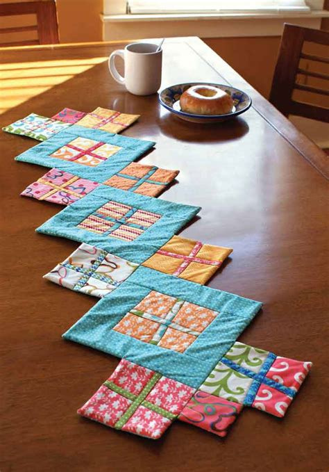 Diy Table Runner Tutorial Using Fat