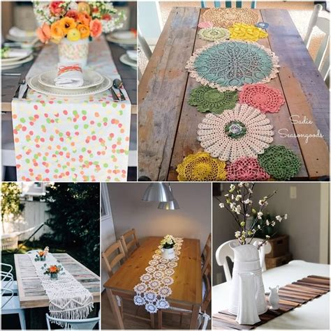 Diy Table Runners For Round Tables