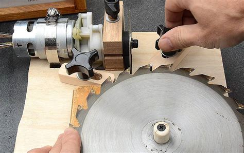 Diy Table Saw Blade Sharpening