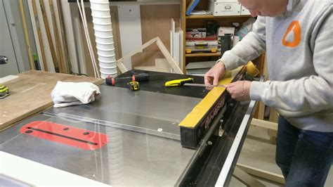 Diy Table Saw Fence Modification