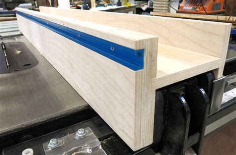 Diy Table Saw Fence Using T Track