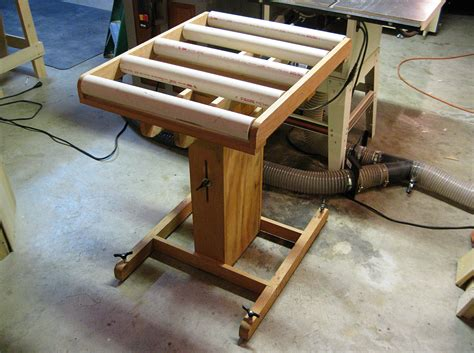 Diy Table Saw Rollers