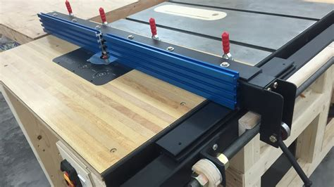 Diy Table Saw Router Table Extension