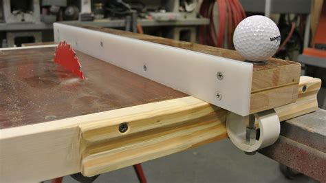 Diy Table Saw Top And Fence
