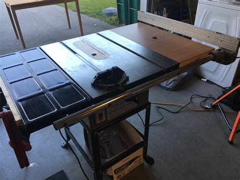 Diy Table Saw Wing