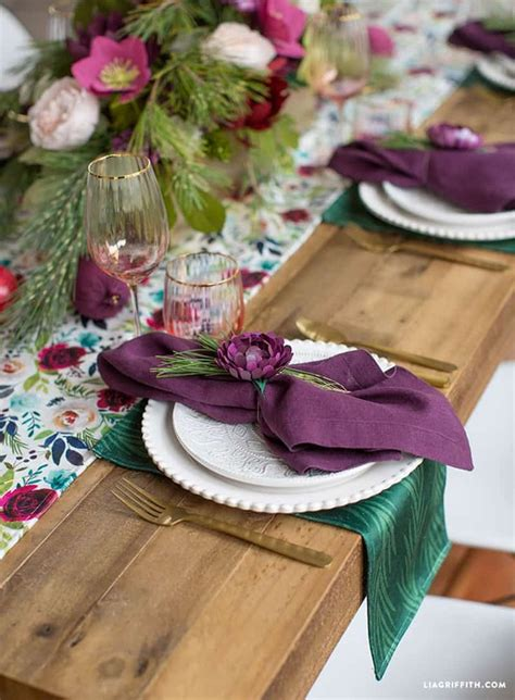 Diy Table Settings
