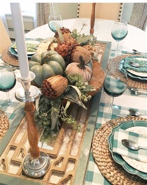 Diy Table Settings For Thanksgiving