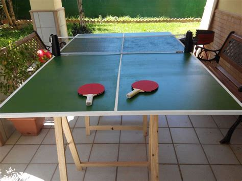 Diy Table Tennis Table Plans