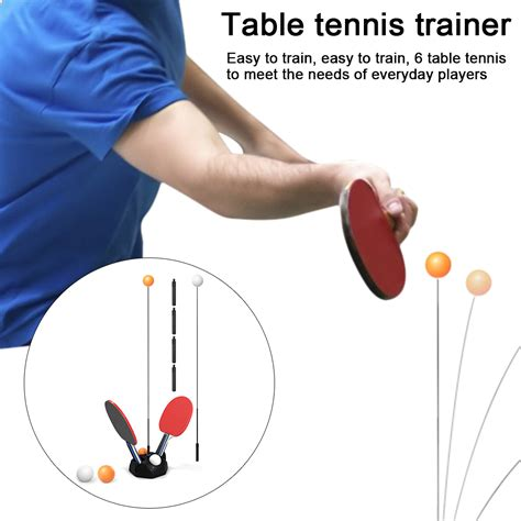 Diy Table Tennis Trainer