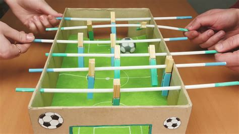 Diy Table Top Soccer