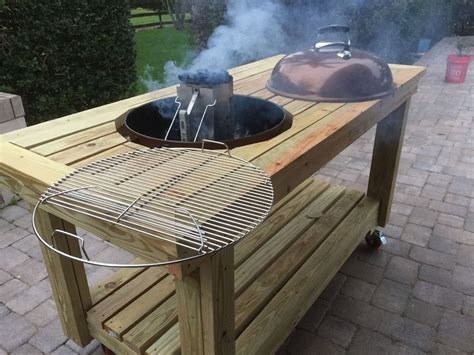 Diy Tabletop Grill Stand