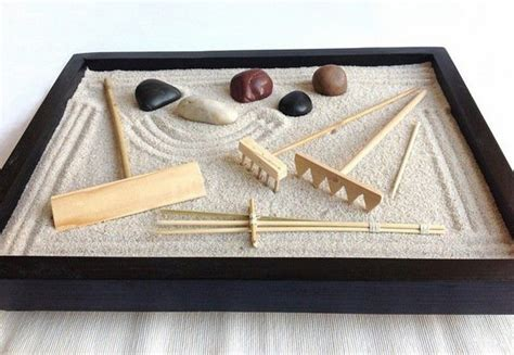 Diy Tabletop Zen Garden
